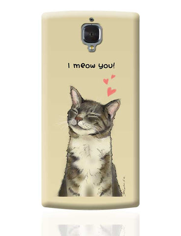I meow you! OnePlus 3 Covers Cases Online India