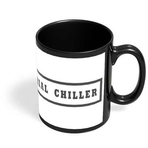 Serial Chiller Black Coffee Mug Online India