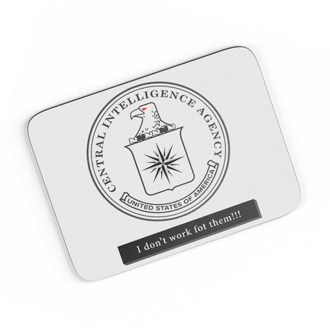 CIA Badge Logo Light A4 Mousepad Online India