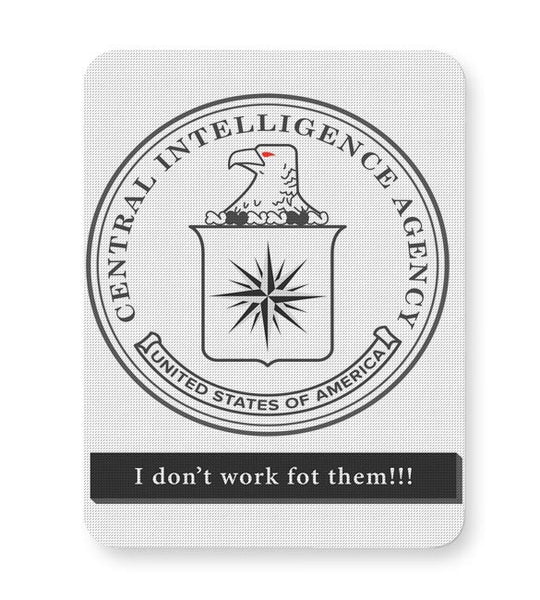 CIA Badge Logo Light Mousepad Online India
