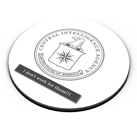 CIA Badge Logo Light Fridge Magnet Online India
