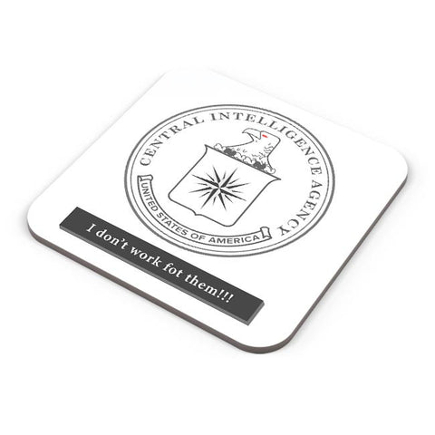 CIA Badge Logo Light Coaster Online India