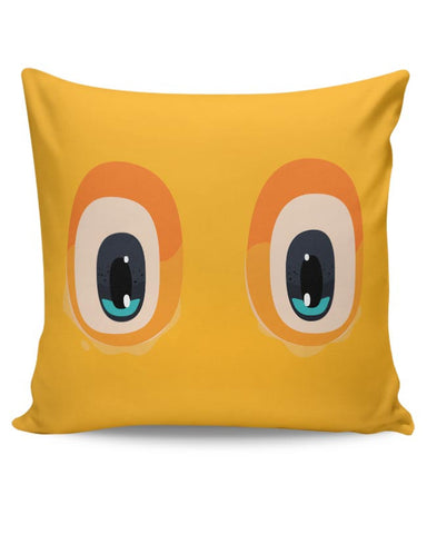 Always watching you (Eyes illustration) Cushion Cover Online India