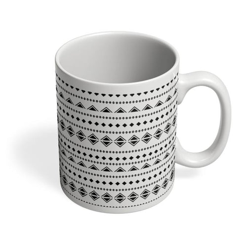 Abstract Shape Pattern Coffee Mug Online India