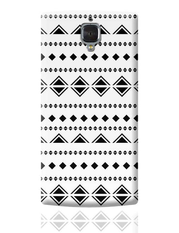 Abstract Shape Pattern OnePlus 3 Covers Cases Online India