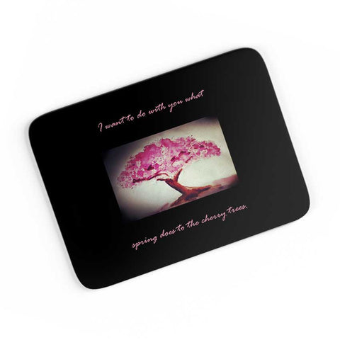 Sakura Cushion cover for a romantic air A4 Mousepad Online India