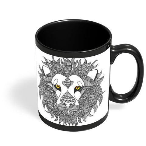 King of the Jungle Black Coffee Mug Online India