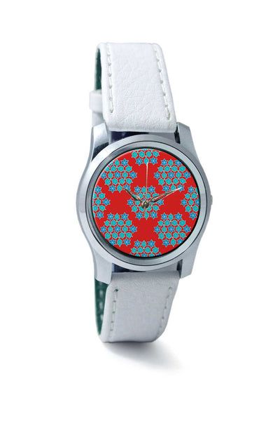 Women Wrist Watch India | Rangoli Pattern Wrist Watch Online India