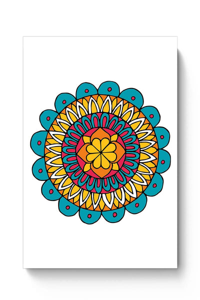 Retro Mandala Poster Online India