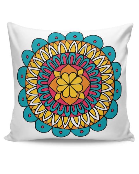 Retro Mandala Cushion Cover Online India