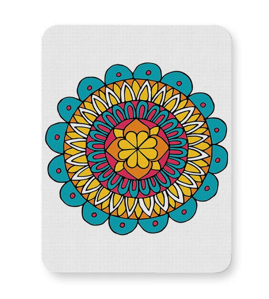 Retro Mandala Mousepad Online India