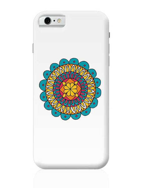 Retro Mandala iPhone 6 / 6S Covers Cases