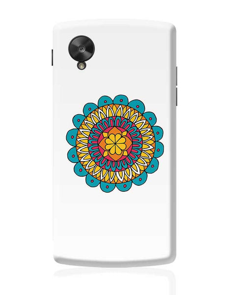 Retro Mandala Google Nexus 5 Covers Cases Online India