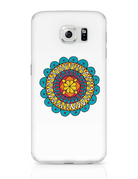 Retro Mandala Samsung Galaxy S6 Covers Cases Online India