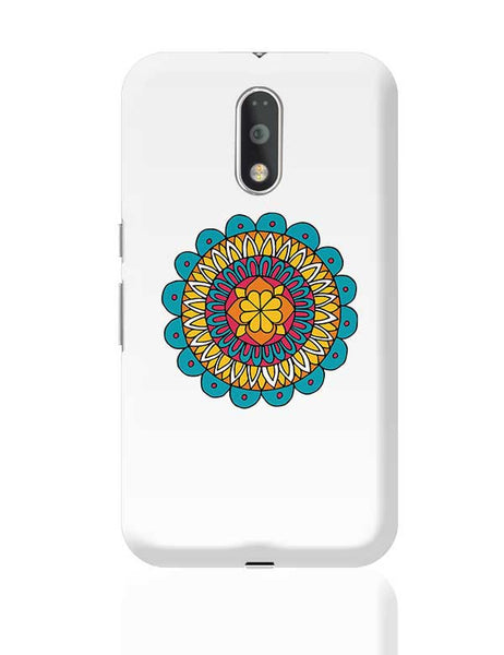 Retro Mandala Moto G4 Plus Online India