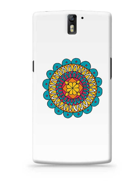 Retro Mandala OnePlus One Covers Cases Online India