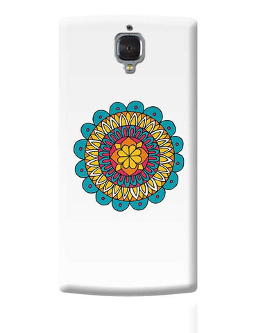 Retro Mandala OnePlus 3 Covers Cases Online India