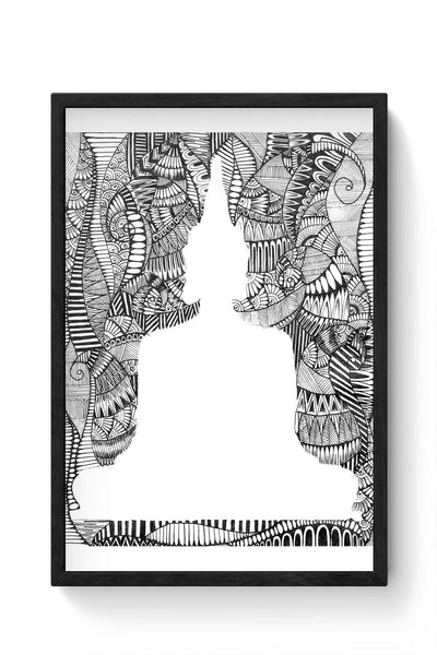 Inner Peace Framed Poster Online India