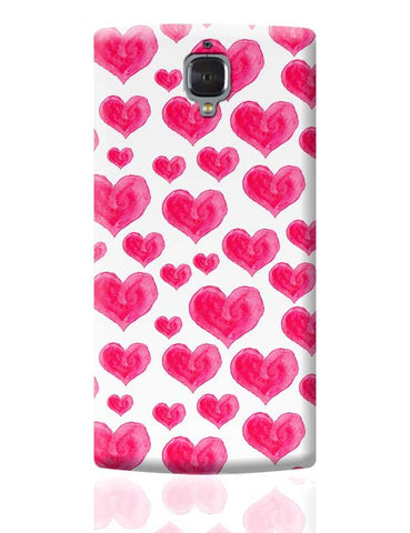Watercolour Love OnePlus 3 Covers Cases Online India