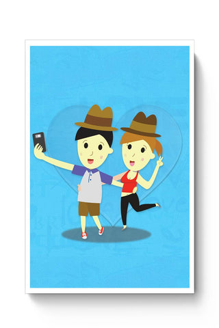 Romantic Selfie Poster Online India