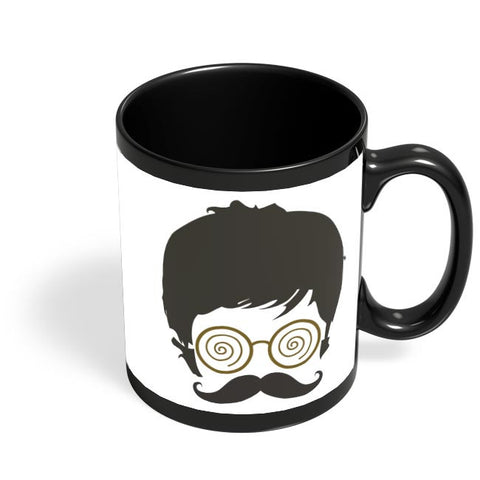 Face Clipart Black Coffee Mug Online India