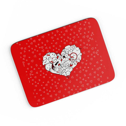 Happymess Doodle A4 Mousepad Online India