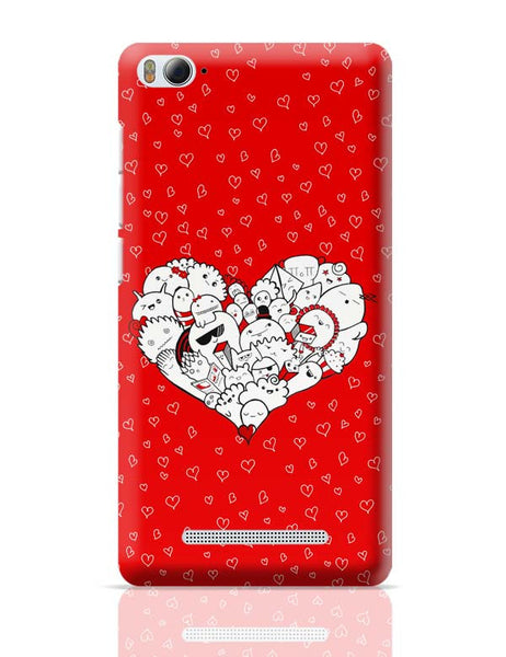 Happymess Doodle Xiaomi Mi 4i Covers Cases Online India