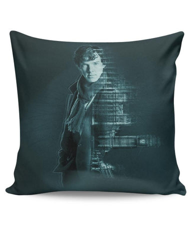 Sherlocked | Benedict Cumberbatch Cushion Cover Online India