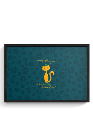 Smelly Cat | FRIENDS Framed Poster Online India