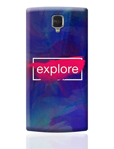 Explore OnePlus 3 Covers Cases Online India