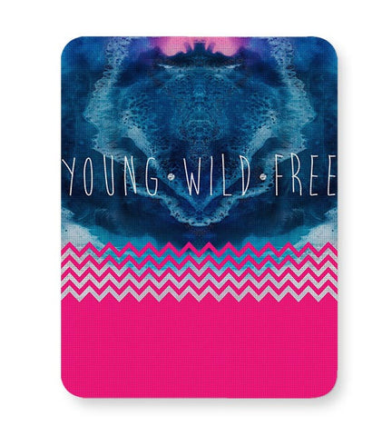 YOUNG WILD FREE Mousepad Online India
