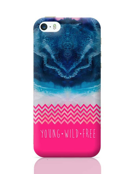 YOUNG WILD FREE iPhone 5/5S Covers Cases Online India