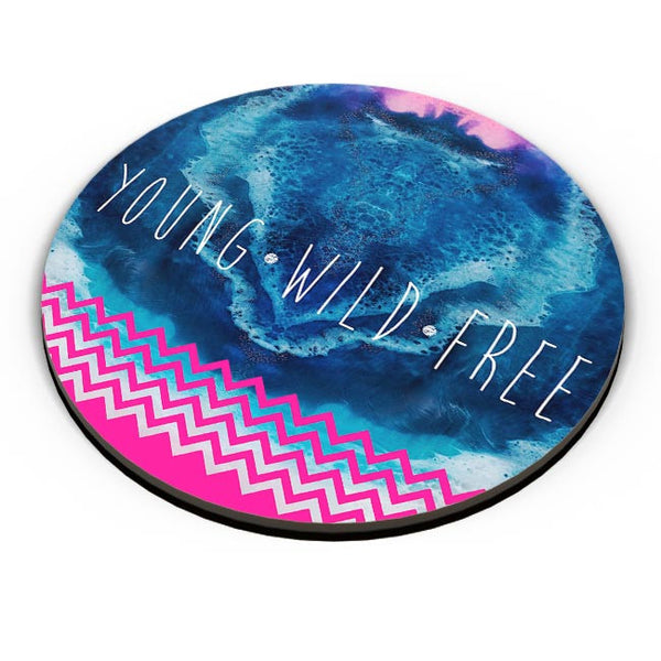 YOUNG WILD FREE Fridge Magnet Online India