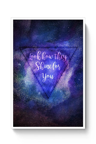 Buy Starry Night | Coldplay Poster