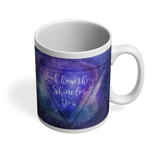 Starry Night | Coldplay Coffee Mug Online India