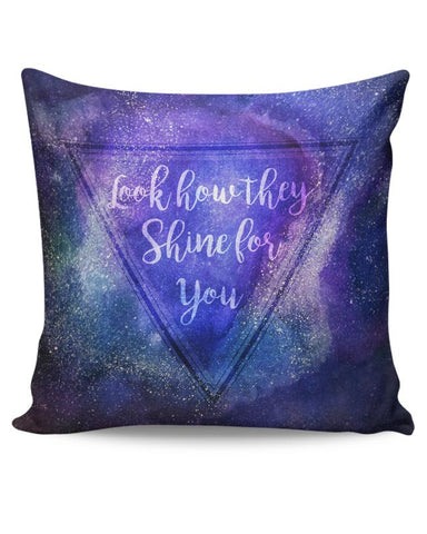 Starry Night | Coldplay Cushion Cover Online India