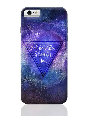 Starry Night | Coldplay iPhone 6 / 6S Covers Cases