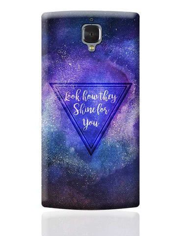 Starry Night | Coldplay OnePlus 3 Covers Cases Online India