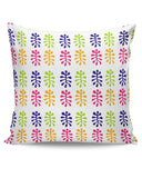 Folk Art Pattern Cushion Cover Online India