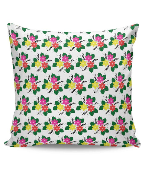 Floral Doodle Cushion Cover Online India
