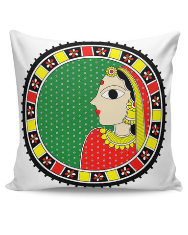 Madhubani  Cushion Cover Online India