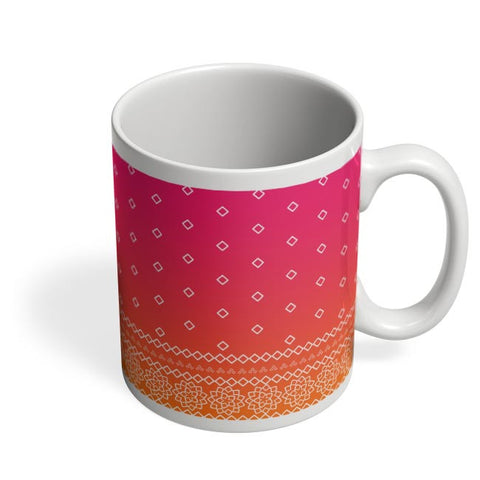 Rajasthani  pattern Coffee Mug Online India