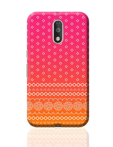 Rajasthani  pattern Moto G4 Plus Online India