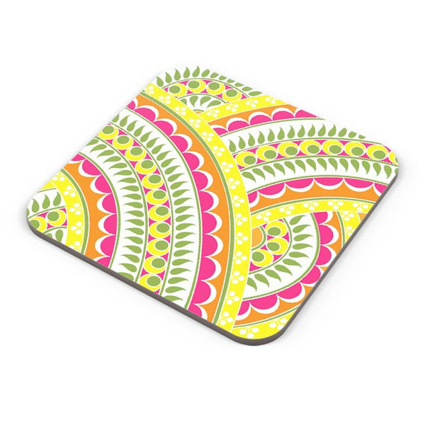 Henna pattern Coaster Online India