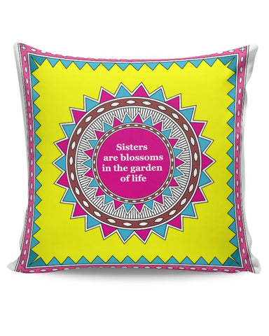 Rakshabandhan ,Rakhi, Sisters, Siblings Cushion Cover Online India