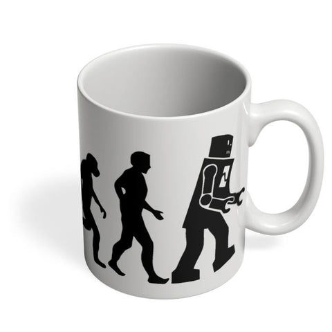 Robot Evolution March Coffee Mug Online India