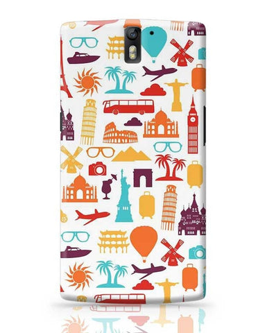 A tour to world OnePlus One Covers Cases Online India