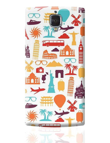 A tour to world OnePlus 3 Covers Cases Online India