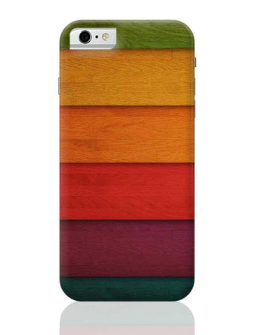 Colourful Wooden Planks iPhone 6 / 6S Covers Cases