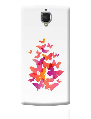 Flying Butterfly OnePlus 3 Covers Cases Online India